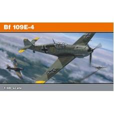 Eduard 1/48 Немецкий истребитель Messerschmitt Bf.109E-4. (Profipack). № 8263