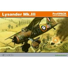 Eduard 1/48 Британский легкий вспомогательный самолет Lysander Mk.III (Profipack). № EDU_8290