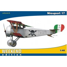 Eduard 1/48 Французский истребитель-биплан Nieuport Ni-17 (Weekend edition). № EDU_8432