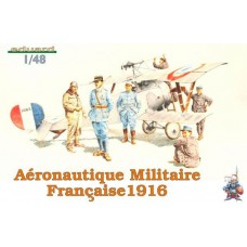 Eduard 1/48 Французские пилоты и авиа-техники, 1916 год. № EDU_8511