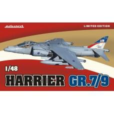 Eduard 1/48 Британский истребитель-бомбардировщик Hawker Siddeley Harrier GR.7/9 (Limited edition). № 1166