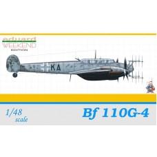 Eduard 1/48 Немецкий ночной истребитель Messerschmitt Bf.110G-4 (Weekend edition). № EDU_8404