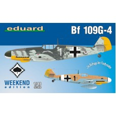 Eduard 1/48 Немецкий истребитель Messerschmitt Bf.109G-4 (Weekend edition). № EDU_84149