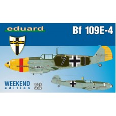 Eduard 1/48 Немецкий истребитель Messerschmitt Bf.109E-4 (Weekend edition). № 84153