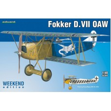 Eduard 1/48 Немецкий истребитель Fokker D. VII OAW (Weekend edition). № 84155