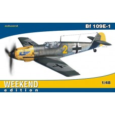 Eduard 1/48 Немецкий истребитель Messerschmitt Bf.109E-1 (Weekend edition). № 84164