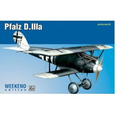 Eduard 1/48 Немецкий истребитель Pfalz D.IIIa (Weekend edition). № EDU_8417