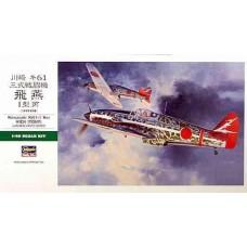 Hasegawa 1/48 Японский истребитель Kawasaki Ki61-I Hei Hien (Tony). № 09087