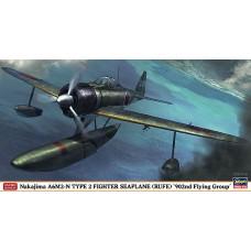 Hasegawa 1/48 Японский поплавковый истребитель Nakajima A6M2-N Type 2 «Rufe» (902nd Flying Group). № HAS_07376