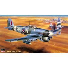 Hasegawa 1/48 Британский истребитель-бомбардировщик Hawker Typhoon Mk.IB № HAS_09059