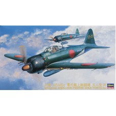 Hasegawa 1/48 Японский истребитель Mitsubishi A6M5c Zero Fighter Type 52 Hei. № HAS_09072