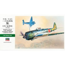 "Hasegawa 1/48 Японский истребитель Nakajima Ki-43-II Hayabusa ""Oscar"" (late version). № HAS_09082"