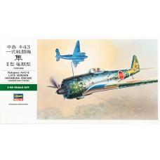 "Hasegawa 1/48 Японский истребитель Nakajima Ki-43-II Hayabusa ""Oscar"" (late version). № 09082"