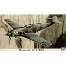 "Hasegawa 1/48 Немецкий истребитель Messerschmitt BF109E-3 /E-4  ""Hahn"" (Limited Edition). № HAS_09746"