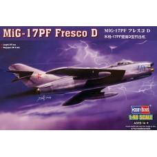 """Hobby Boss 1/48 Советский истребитель Миг-17ПФ """"Fresco D"""". № 80336"""