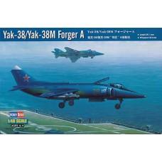 Hobby Boss 1/48 Советский палубный штурмовик Як-38 / Як-38М. № HOB_80362