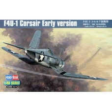 "Hobby Boss 1/48 Американский палубный истребитель F4U-1 ""Corsair"" Early version. № 80381"