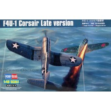 "Hobby Boss 1/48 Американский палубный истребитель F4U-1 ""Corsair"" Late version. № 80382"