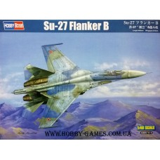 "Hobby Boss 1/48 Советский истребитель Су-27 ""Flanker B"". № HOB_81711"