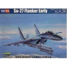 "Hobby Boss 1/48 Советский истребитель Су-27 ""Flanker B"" Early type. № 81712"