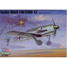 Hobby Boss 1/48 Немецкий истребитель FW.190D-12 «Langnasen-Dora». № 81719