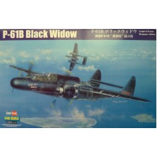 Hobby Boss 1/48 Американский тяжёлый ночной истребитель Northrop P-61B «Black Widow». № 81731