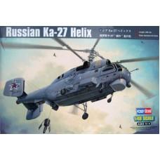 """Hobby Boss 1/48 Советский корабельный многоцелевой вертолёт Ка-27 """"Helix"""". № HOB_81739"""