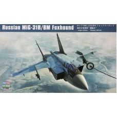 "Hobby Boss 1/48 Советский истребитель-перехватчик МиГ-31Б/БМ ""Foxhound"". № HOB_81754"