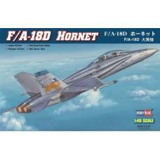 Hobby Boss 1/48 Американский палубный истребитель-бомбардировщик F/A-18D Hornet. № HOB_80322