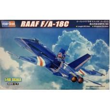 Hobby Boss 1/48 Истребитель-бомбардировщик F/A-18C Hornet RAAF. № 85809