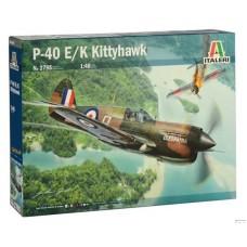 Italeri 1/48 Американский истребитель P-40 E/K Kittyhawk. № 2795