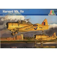 Italeri 1/48 Британский учебно-тренировочный самолет Harvard Mk.IIA (AT-6 Texan). № 2736