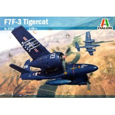 Italeri 1/48 Американский палубный истребитель Grumman F7F-3 Tigercat. № ITA_2756