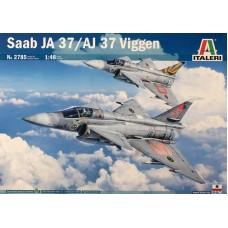 Italeri 1/48 Шведский сверхзвуковой истребитель-перехватчик Saab JA 37/AJ 37 Viggen. № ITA_2785