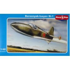MikroMir (МикроМир) 1/48 Советский ракетный самолёт БИ-1. № 48-010