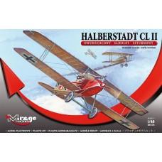 Mirage Hobby 1/48 Немецкий штурмовой самолёт Halberstadt Cl.II early version. № 481306