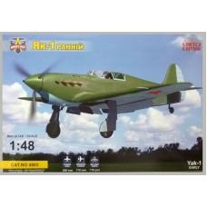Modelsvit 1/48 Советский истребитель Як-1 (early version). № 4803