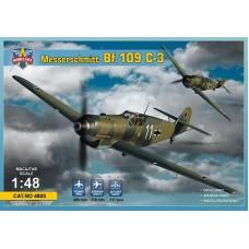 Modelsvit 1:48 Немецкий истребитель Messerschmitt Bf.109C-3. № 4805