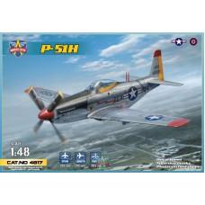 "Modelsvit 1/48 Американский истребитель North American P-51H ""Mustang"". № 4817"