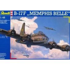 Revell 1/48 Американский тяжелый бомбардировщик Boeing B-17F Flying Fortress «Memphis Belle». № REV_04297