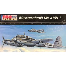 Revell-Monogram 1/48 Hемецкий тяжелый истребитель-бомбардировщик Messerschmitt Me.410B-1 «Hornisse». № REV_5936