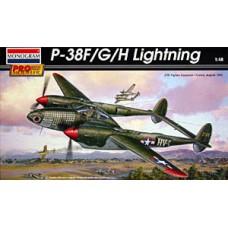 Revell-Monogram 1/48 Американский истребитель-бомбардировщик Lockheed P-38F/G/H/ Lightning. № REV_85-5974