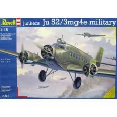 Revell 1/48 Hемецкий военно-транспортный самолёт Junkers Ju.52/3mg4e «Tante Ju». № REV_04521