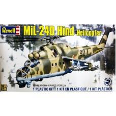 """Revell 1/48 Советский ударный вертолет Ми-24Д """"Hind-D"""". 85-5856"""
