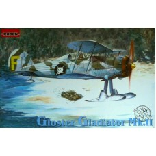 Roden 1/48 Британский истребитель Gloster Gladiator MK.II. № 401