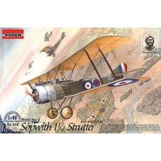 Roden 1/48 Британский истребитель Sopwith 1½ Strutter (двухместный). № 402
