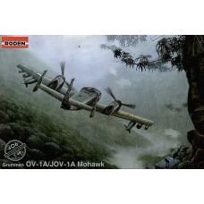 Roden 1/48 Американский самолёт Grumman OV-1A/JOV-1A «Mohawk». № 406