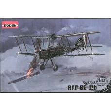 Roden 1/48 Британский истребитель RAF BE 12b. № 412