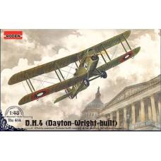 Roden 1/48 Американский дневной бомбардировщик D.H.4 (Dayton-Wright-built). № 414