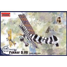 Roden 1/48 Германский самолет Fokker D.VII ранняя версия. № 415